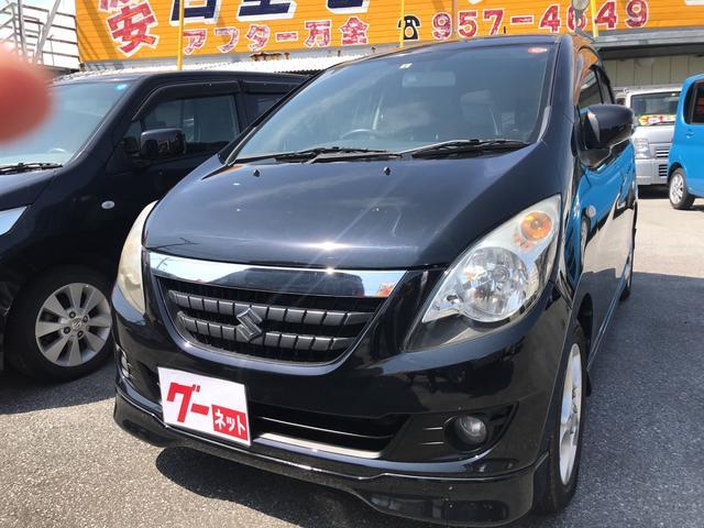 沖縄の中古車 スズキ セルボ 車両価格 29万円 リ済込 2008(平成20)年 10.7万km ブラック