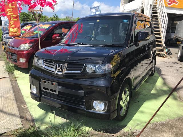 沖縄の中古車 ホンダ ゼストスパーク 車両価格 36万円 リ済込 2009(平成21)年 9.2万km ブラック