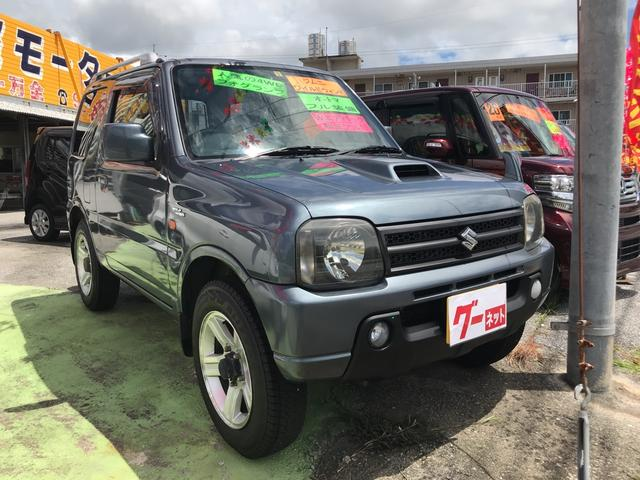 沖縄の中古車 スズキ ジムニー 車両価格 46万円 リ済込 2007(平成19)年 11.3万km グレー