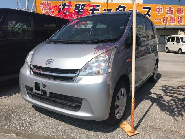 沖縄の中古車 ダイハツ ムーヴ 車両価格 33万円 リ済込 2011(平成23)年 10.6万km シルバー
