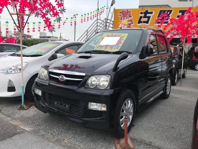 沖縄の中古車 ダイハツ テリオスキッド 車両価格 32万円 リ済込 2007(平成19)年 10.5万km ブラック