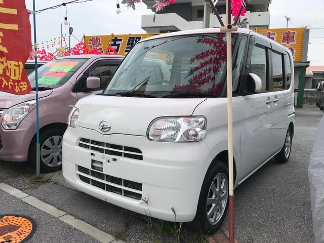 沖縄の中古車 ダイハツ タント 車両価格 44万円 リ済込 2012(平成24)年 9.8万km ホワイト