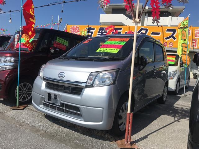 沖縄の中古車 ダイハツ ムーヴ 車両価格 39万円 リ済込 2014(平成26)年 7.7万km シルバー