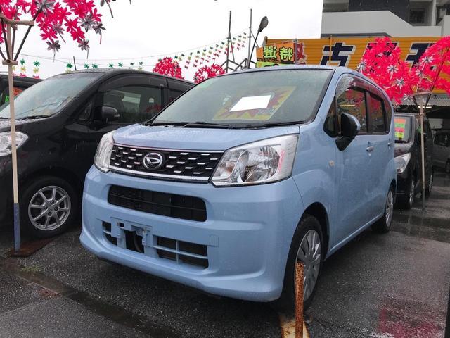沖縄の中古車 ダイハツ ムーヴ 車両価格 59万円 リ済込 2017(平成29)年 10.8万km ライトブルー