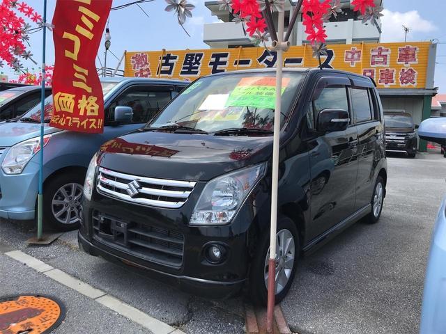 沖縄の中古車 スズキ ワゴンR 車両価格 39万円 リ済込 2010(平成22)年 9.0万km ブラック