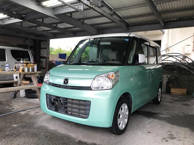 沖縄の中古車 マツダ フレアワゴン 車両価格 43万円 リ済込 2013(平成25)年 10.4万km グリーン