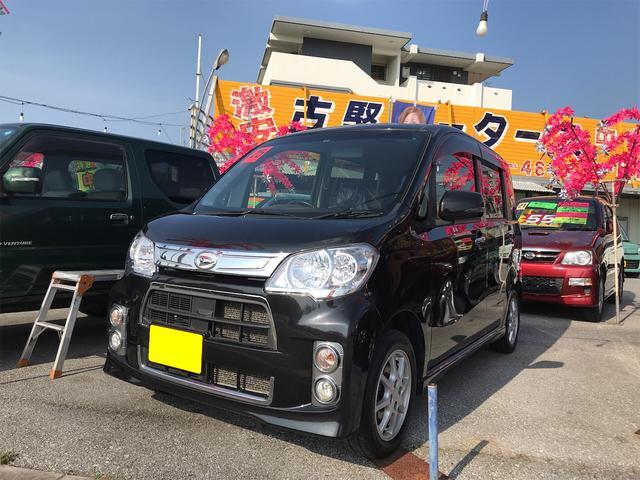 沖縄の中古車 ダイハツ タントエグゼ 車両価格 38万円 リ済込 2013(平成25)年 11.8万km ブラック