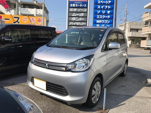 沖縄の中古車 三菱 eKワゴン 車両価格 46万円 リ済込 2014(平成26)年 9.1万km シルバー