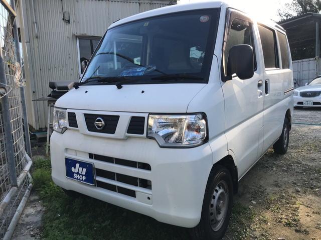 沖縄の中古車 日産 NV100クリッパーバン 車両価格 29万円 リ済込 平成24年 14.5万km ホワイト