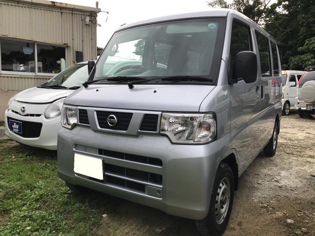 沖縄の中古車 日産 NV100クリッパーバン 車両価格 37万円 リ済込 平成25年 12.3万km シルバー