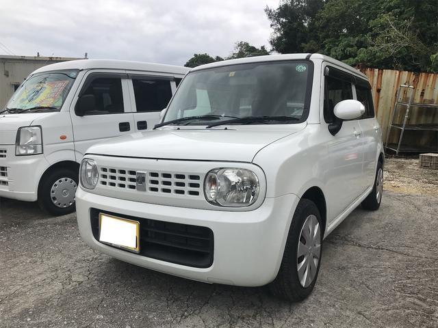 沖縄県の中古車ならアルトラパン X スマートキー プッシュスタート