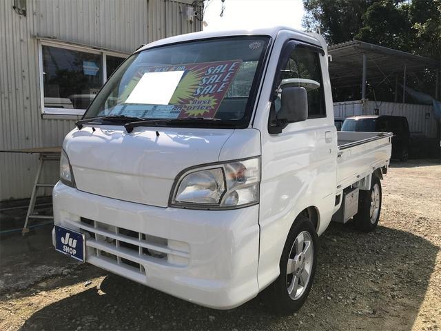 沖縄の中古車 ダイハツ ハイゼットトラック 車両価格 34万円 リ済込 2005(平成17)年 8.3万km ホワイト