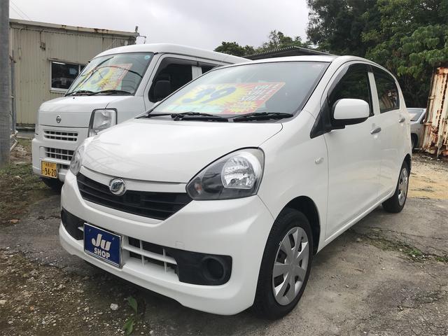 沖縄の中古車 ダイハツ ミライース 車両価格 39万円 リ済込 2015(平成27)年 7.8万km ホワイト