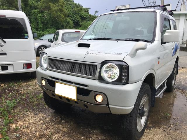 沖縄県の中古車ならジムニー ワイルドウインド 4AT