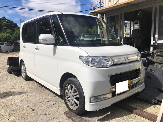 沖縄の中古車 ダイハツ タント 車両価格 59万円 リ済別 2010(平成22)年 6.2万km パールホワイトIII