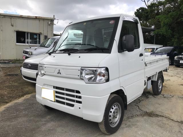 沖縄の中古車 三菱 ミニキャブトラック 車両価格 47万円 リ済込 2013(平成25)年 6.9万km ホワイト