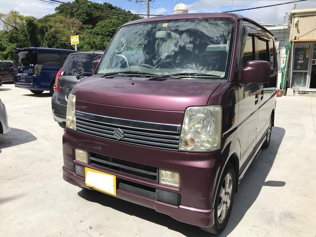 沖縄県の中古車ならエブリイワゴン PZターボスペシャル キーレス 両側パワースライドドア