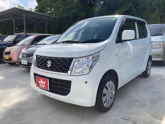 沖縄県沖縄市の中古車ならワゴンR FX キーレス アイドリングストップ シートヒーター ナビ Bluetooth ベンチシート オートエアコン