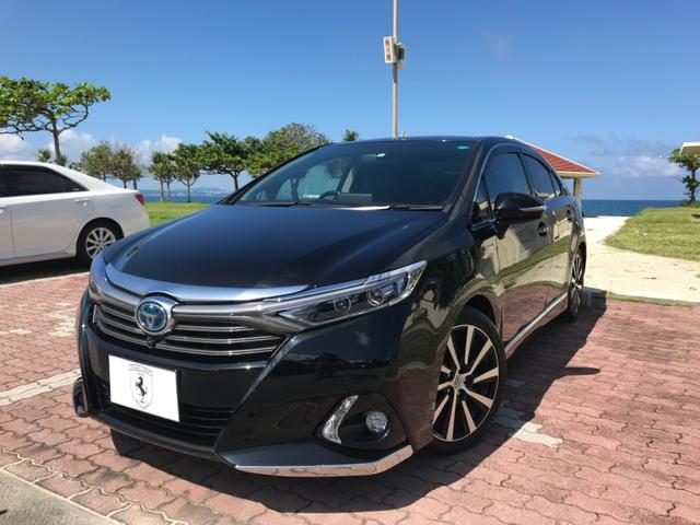 沖縄県の中古車ならSAI G Aパッケージ 本革シート 純正18AW TセーフティP