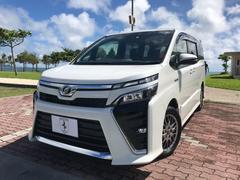 沖縄の中古車 トヨタ ヴォクシー 車両価格 358万円 リ済込 平成29後 0.5万K ホワイトM