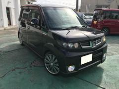 沖縄の中古車 ホンダ ゼストスパーク 車両価格 48万円 リ済込 平成21年 5.6万K ブラックM