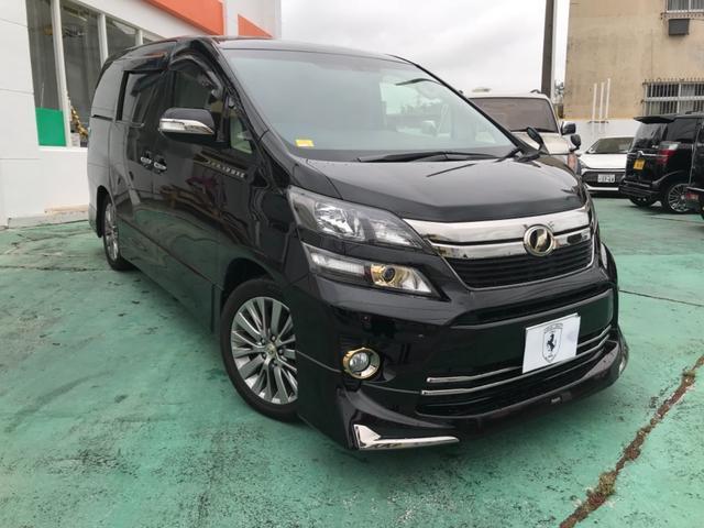 沖縄の中古車 トヨタ ヴェルファイア 車両価格 248万円 リ済込 2013(平成25)後 8.9万km ワインM