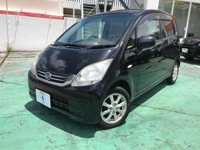沖縄の中古車 ダイハツ ムーヴ 車両価格 33万円 リ済込 2010(平成22)年 9.4万km ブラックM