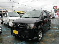 沖縄の中古車 日産 オッティ 車両価格 42万円 リ済込 平成19年 8.2万K ブラックP