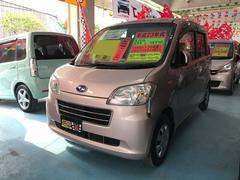 沖縄の中古車 スバル ルクラ 車両価格 37万円 リ済込 平成23年 10.5万K ピンク