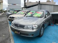 沖縄の中古車 日産 ブルーバードシルフィ 車両価格 15万円 リ済込 平成16年 5.9万K チタニウムシルバーM