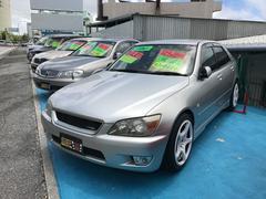 沖縄の中古車 トヨタ アルテッツァ 車両価格 39万円 リ済込 平成12年 15.5万K シルバー