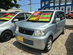 沖縄の中古車 三菱 eKワゴン 車両価格 13万円 リ済込 平成17年 13.6万K シルバー