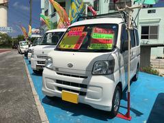 沖縄の中古車 ダイハツ ハイゼットカーゴ 車両価格 37万円 リ済込 平成22年 15.4万K ホワイト