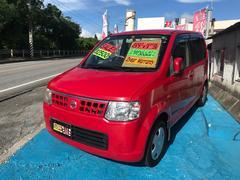 沖縄の中古車 日産 オッティ 車両価格 19万円 リ済込 平成19年 7.7万K レッド