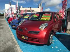 沖縄の中古車 日産 マーチ 車両価格 32万円 リ済込 平成19年 8.9万K レッド