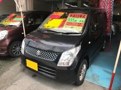 沖縄の中古車 スズキ ワゴンR 車両価格 39万円 リ済込 平成23年 10.2万K ブラック