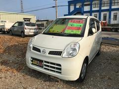 沖縄の中古車 日産 モコ 車両価格 19万円 リ済別 平成21年 15.2万K スノーパールホワイト
