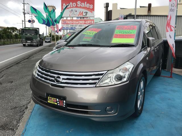 沖縄の中古車 日産 プレサージュ 車両価格 35万円 リ済別 平成21年 8.0万km アイアンM