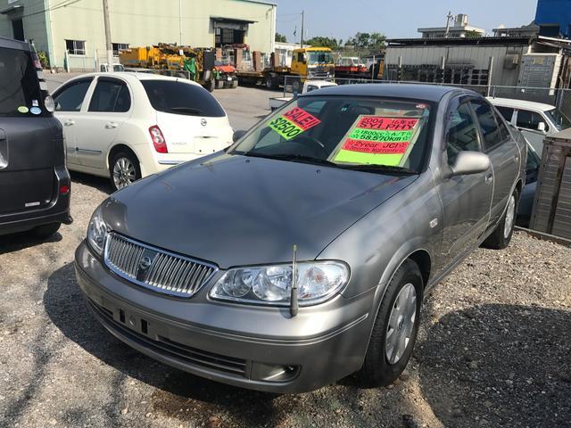 沖縄の中古車 日産 ブルーバードシルフィ 車両価格 19万円 リ済別 2004(平成16)年 5.9万km グレー