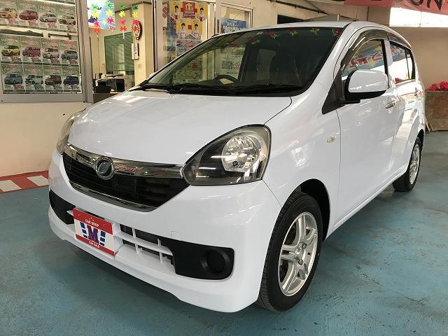 沖縄の中古車 ダイハツ ミライース 車両価格 43万円 リ済込 平成26年 9.3万km ライトブルー