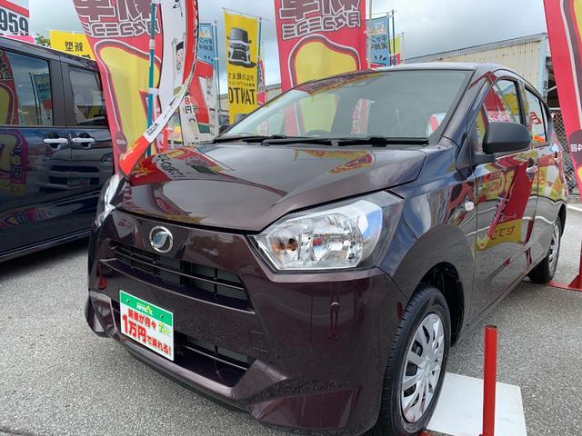 沖縄の中古車 ダイハツ ミライース 車両価格 93.9万円 リ済別 新車  ブラウンM