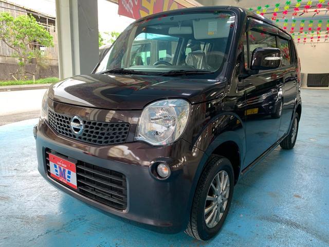 沖縄の中古車 日産 モコ 車両価格 39万円 リ済込 2011(平成23)年 10.3万km ブラウン