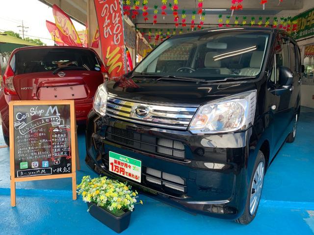 沖縄の中古車 ダイハツ ムーヴ 車両価格 117.7万円 リ済別 新車  ブラックM