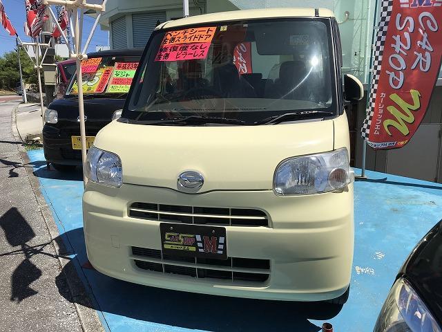沖縄の中古車 ダイハツ タント 車両価格 29万円 リ済込 2011(平成23)年 14.7万km ライトイエロー