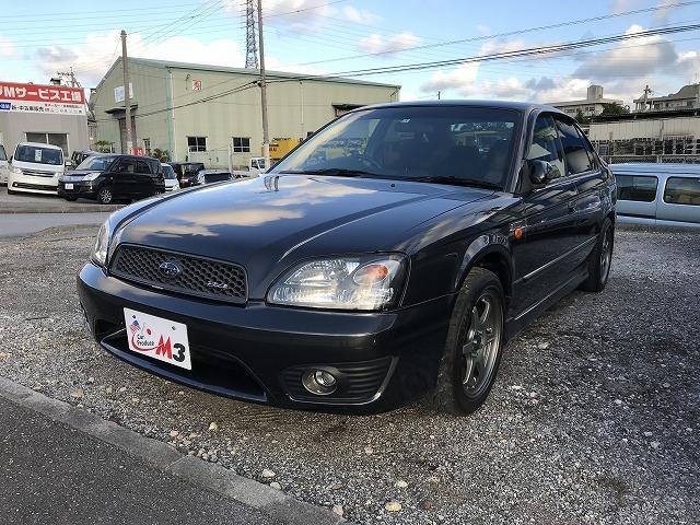 沖縄の中古車 スバル レガシィB4 車両価格 49万円 リ済込 2003(平成15)年 9.7万km グレーII