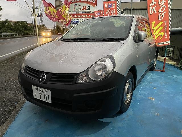 沖縄の中古車 日産 AD 車両価格 39万円 リ済別 2014(平成26)年 8.9万km シルバーM