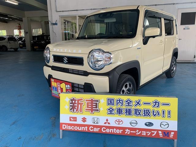 沖縄県の中古車ならハスラー ハイブリッドG セーフティサポート搭載車 展示車
