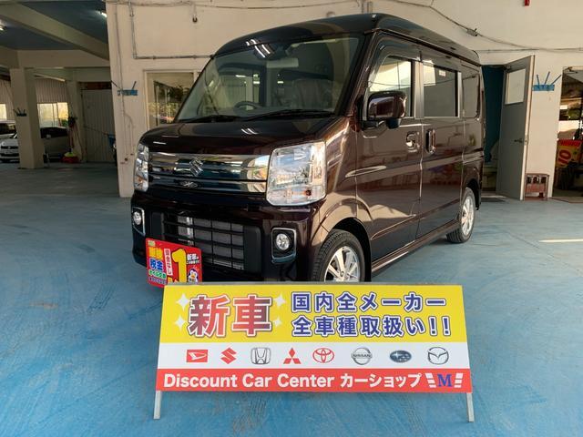 沖縄県の中古車ならエブリイワゴン PZターボ ハイルーフ 新車