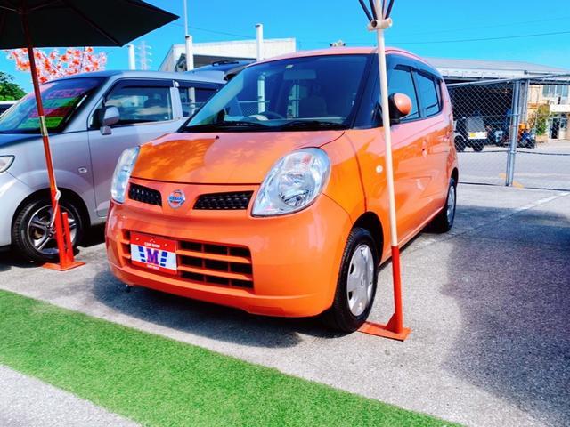 沖縄の中古車 日産 モコ 車両価格 23万円 リ済込 2010(平成22)年 9.7万km モココーラルM