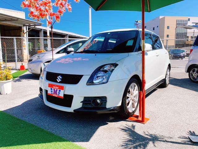 沖縄の中古車 スズキ スイフト 車両価格 39万円 リ済込 2009(平成21)年 15.0万km パールホワイト